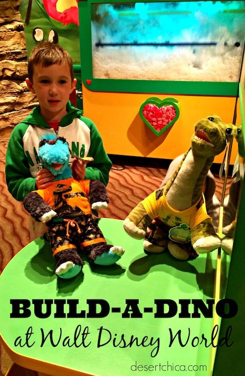 Build-A-Dino at Walt Disney World perfect for your little jurassic fan.