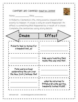 ROBERTO CLEMENTE SUPPLEMENTAL ACTIVITIES 3RD GRADE JOURNEYS UNIT 1, LESSON 5 - TeachersPayTeachers.com