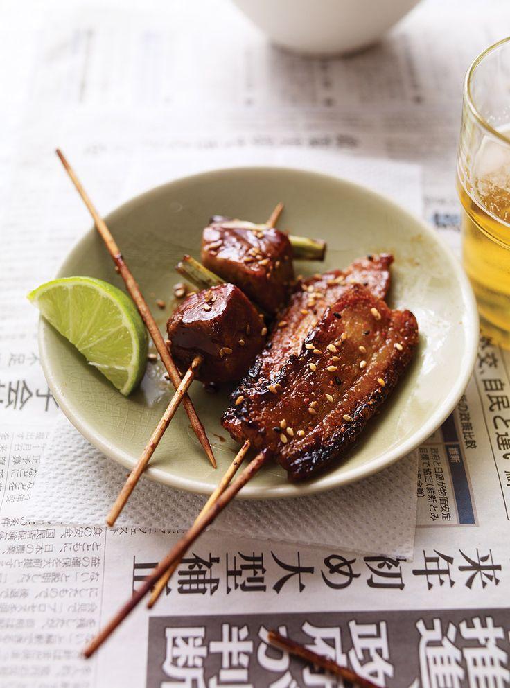 Recette de Ricardo de Yakiton (Brochettes de porc japonaises)
