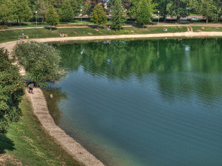Štrkovecké jazero in Bratislava