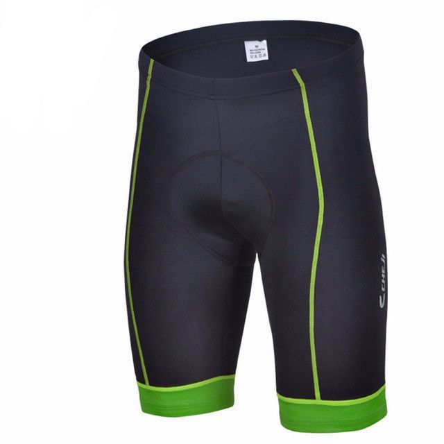 Men's Color Trim Padded Cycling Shorts
