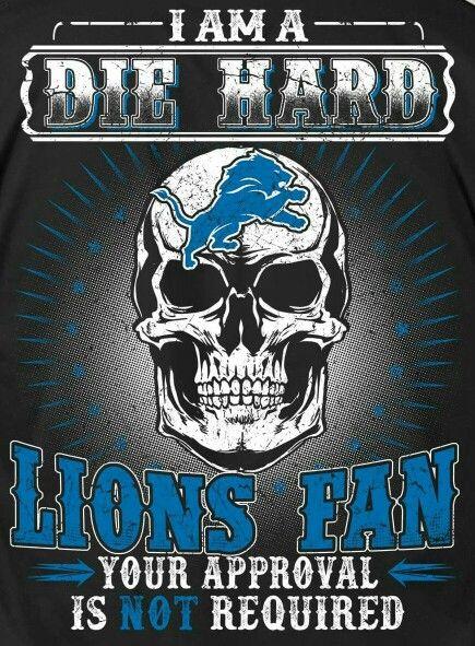 Lions fan