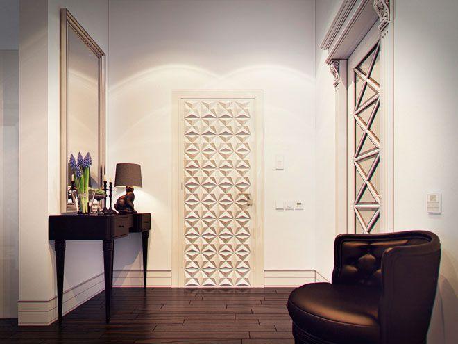 дизайн прихожей - Интерьер трехкомнатной квартиры с элементами ар-деко на Кирочной ул.