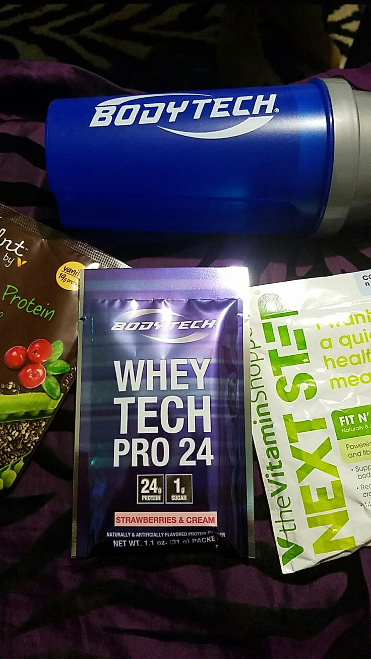The Vitamin Shoppe Protein Powders I received free to review. #summerofsmoothies…