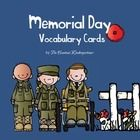 Free! Memorial Day Vocabulary Cards to help the children remember important facts and figures of this important holiday. Enjoy!  I also have created a So...