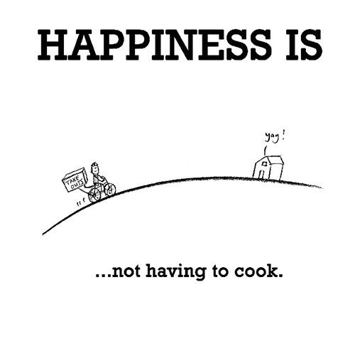 So true!  My daughter made me lunch when I visited today and my husband took me out for dinner.  Happy, happy day!!