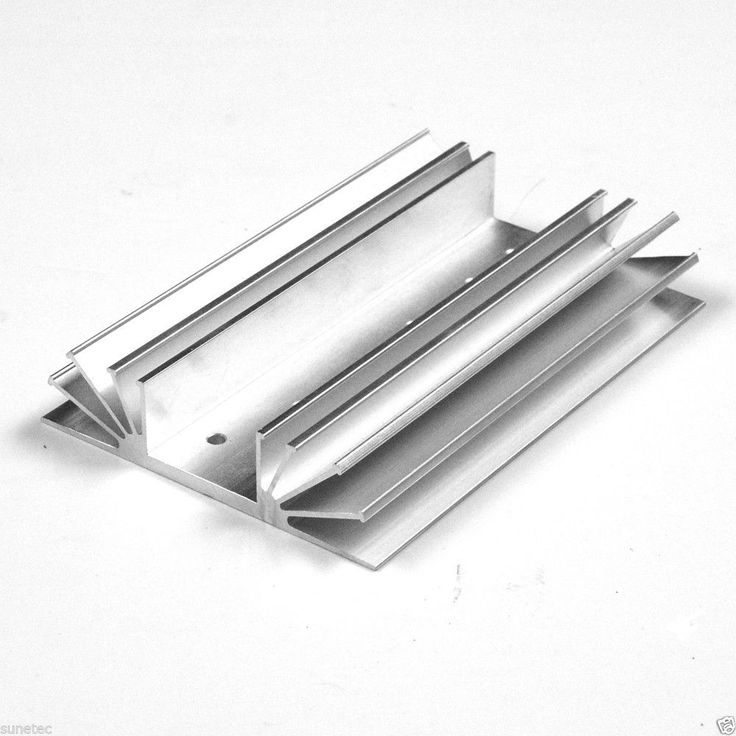 SS361 Aluminum Heatsink Heat Sink Audio Amplifier