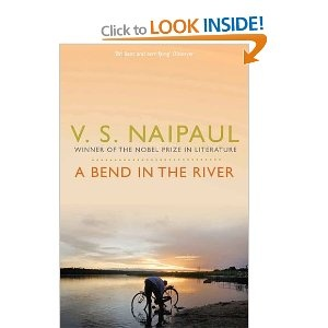 """A Bend in the River - V.S. Naipaul. Once heard it described as an """"African Heart of Darkness"""", which of course, it isn't. Slow moving and sparse language make it less accessible, but rare in its examination of post-colonial Africa."""