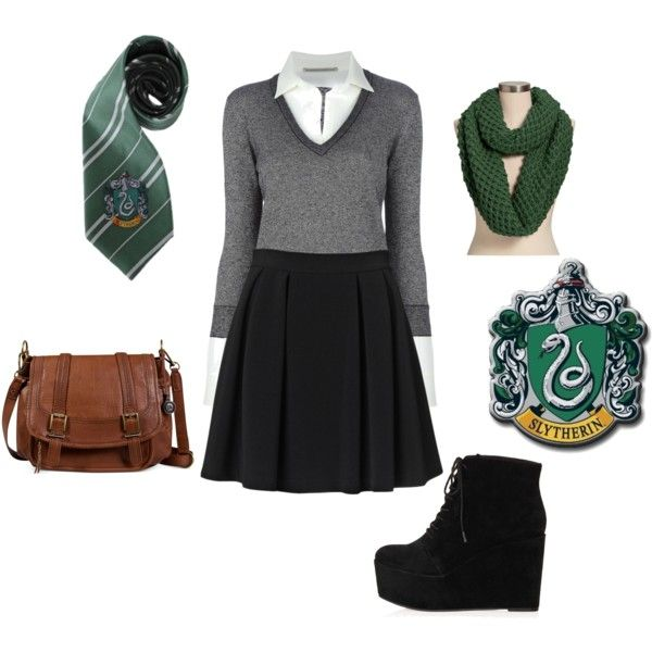Slytherin School Outfit