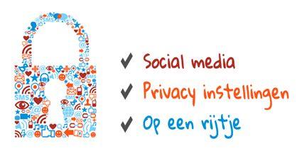 Privacy instellingen social media - widget 425
