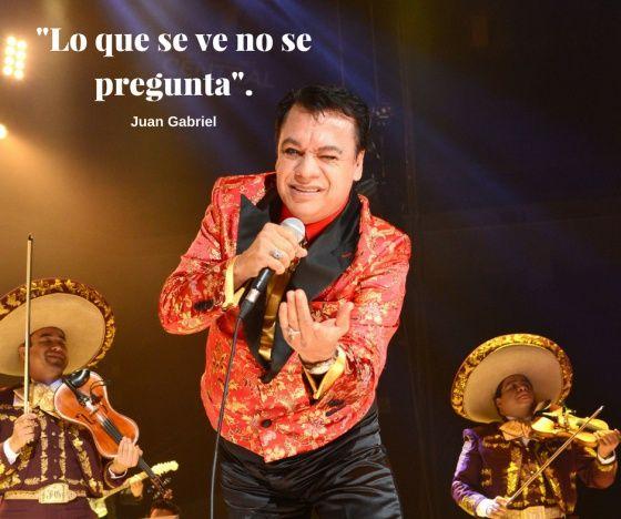 14 frases de Juan Gabriel que podrían ser letras de sus canciones   Verne México…