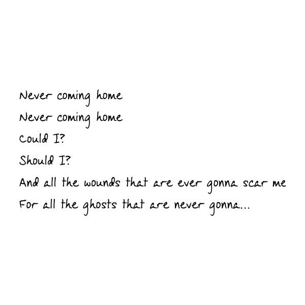 the ghost of you lyrics ❤ liked on Polyvore featuring quotes, text, mcr, my chemical romance, words, phrase and saying