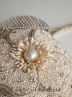 Iwashita Yukari haute couture embroidery work