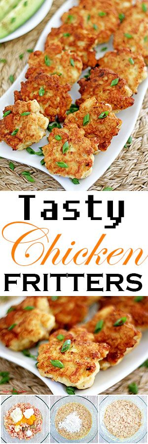 Meet the chicken nugget's fancy cousin! These tasty things are literally one of the easiest things you can ever make and absolutely fantastic. Crispy one the outside, soft and juicy on the inside with a little hint of garlic, will instantly make you a fan. Oh, how tasty they are!
