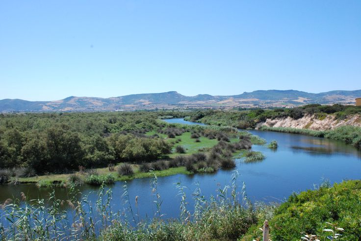 vista fiume a Pirottu