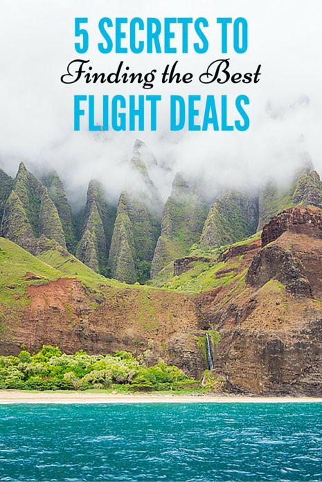 Secrets to finding the best flight deals