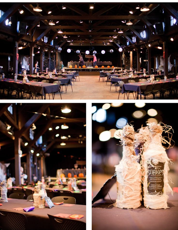 Photos From A Halloween Wedding. Awesome Bouquets, Ideas For Hall  Decorations, And Photography Ideas Part 72