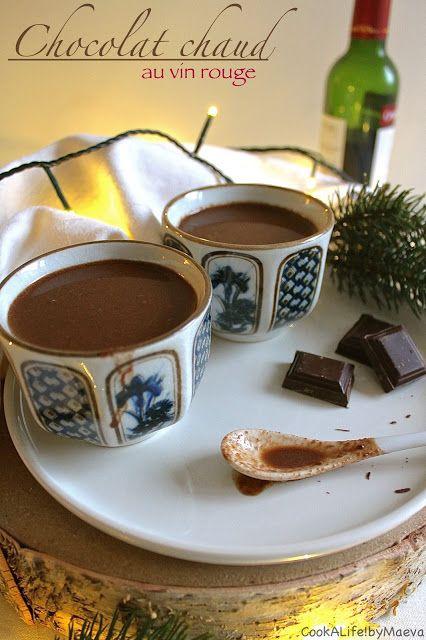 Chocolat chaud au vin rouge • Red wine hot chocolate   #drink #christmas #noël #natale #navidad #drink #boisson #cocooning #comfort #food