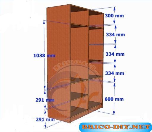 Web del Bricolaje Diseño Diy : Bricolaje-Diy  Planos gratis Como hacer muebles de melamina  madera y Mdf
