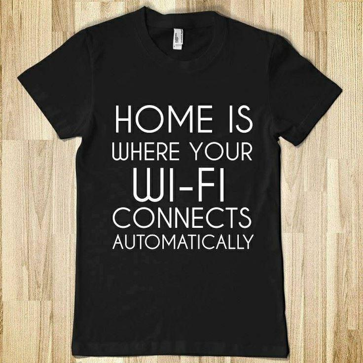 Tshirt wifi