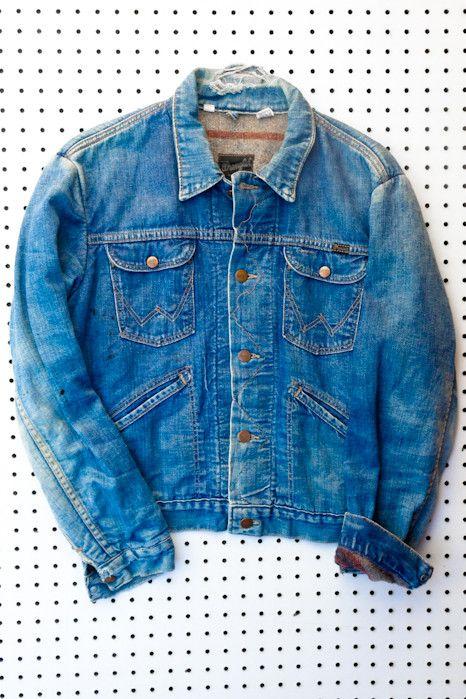 Virgil Normal Vintage 70's Wrangler Denim Jacket with Lining