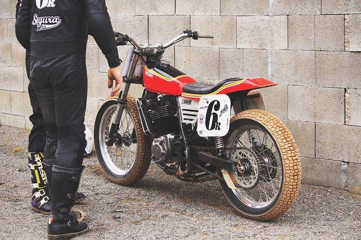 Suzuki Flat Tracker // Flat Track Invitational 2