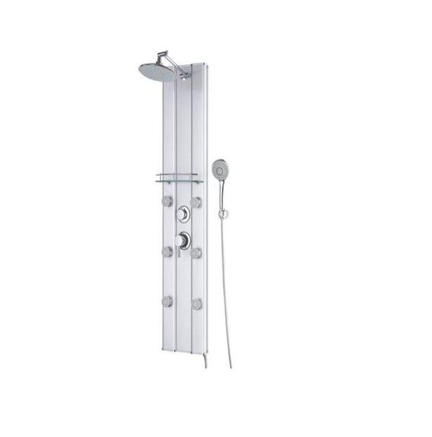 Columna baño ducha hidromasaje menorca dp #equipamientobano #columna #hidromasaje