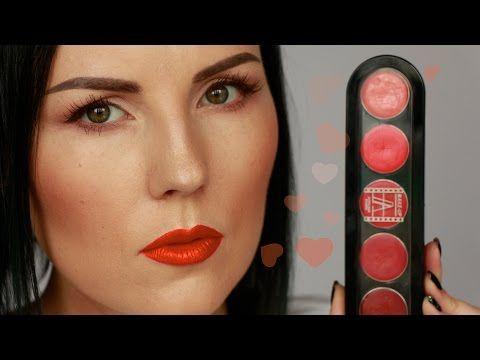 ОРАНЖЕВАЯ ПОМАДА в макияже | Lipka1000 - YouTube