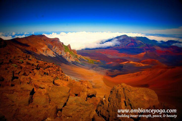 Haleakala National Park - Maui, Hawaii  Retreat and explore with me! #wanderer #wanderlust #travel #ombianceyoga #solotraveler #traveler #explore #travelgram #travelingyogini #travelbug #traveltips #yoga #yogaretreat #yogatravel #yogalove