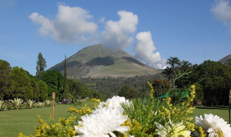 Tomohon, on the foot of Tomohon Mount a small town in Nort Sulawesi to visit.