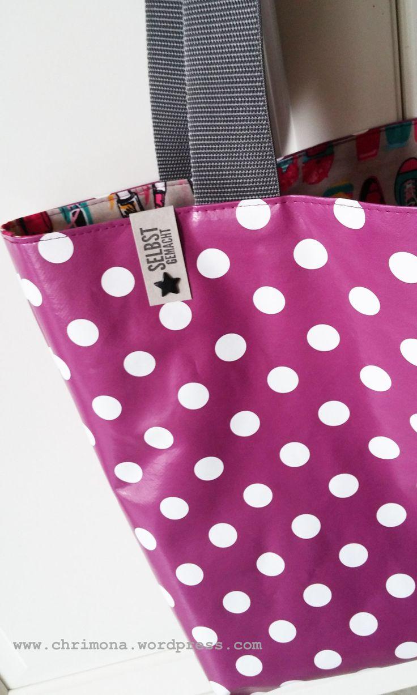 Shopper Tasche aus Wachstuch – mit Anleitung! – …