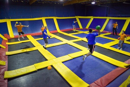 Sky High Sports is a one-of-a-kind trampoline fun center in Bellevue that will have you flipping and flying through the sky.