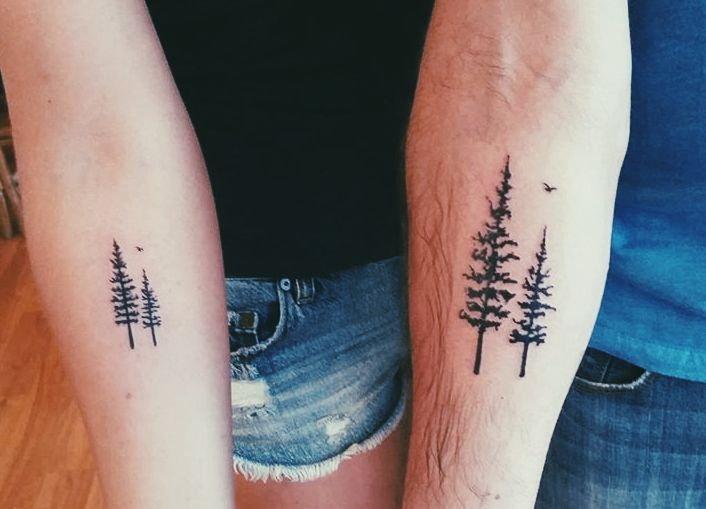 Redwood tattoo