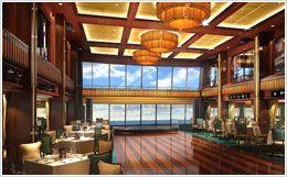 Manhattan Room restaurant on board Norwegian Breakaway.