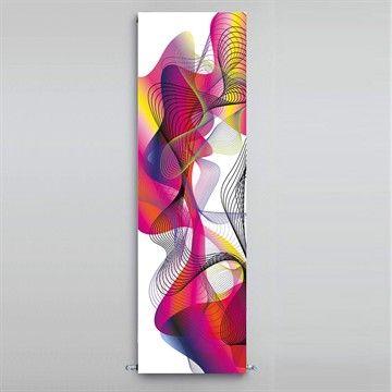 Smuk radiator designet af Karim Rashid