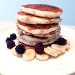 Fluffy Vegan Pancake. #vegan #vegetarian #breakfast