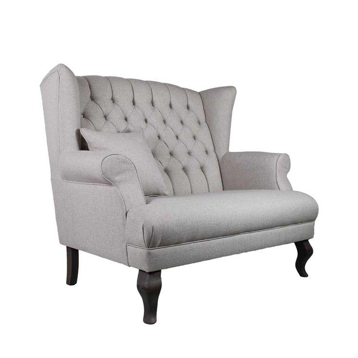 2 Sitzer Sofa In Creme Weiss Ohren Jetzt Bestellen Unter Moebelladendirektde Wohnzimmer Sofas Und 3 Uid35177e55 E50a 5aa0 A797