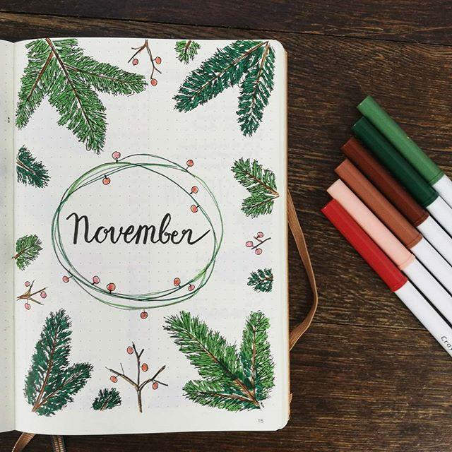 #november Das Thema für den November… ich finde die Idee toll, für jeden Monat ein eigenes Thema mit eigenen Farben zu haben. So kann ich immer die passenden Farben in meiner Box dabei haben. Und so findet man die Monate beim Durchblättern bestimmt schnell wieder. ________________________ #bulletjournal #kalender #coverpage #leuchtturm1917 #novemberfarben #herbst #farben #colours #Regram via @bulletjournal_by_ladieslounge