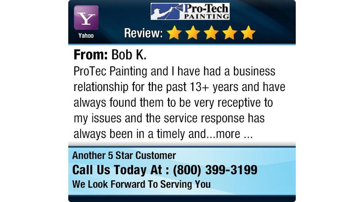 ProTec Painting and I have had a business relationship for the past 13+ years and have...