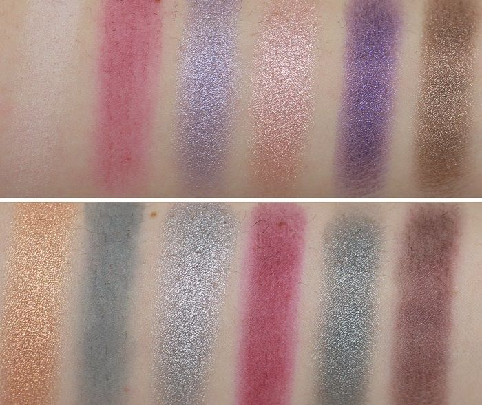 Sleek i-divine Palette Enchanted Forest swatch