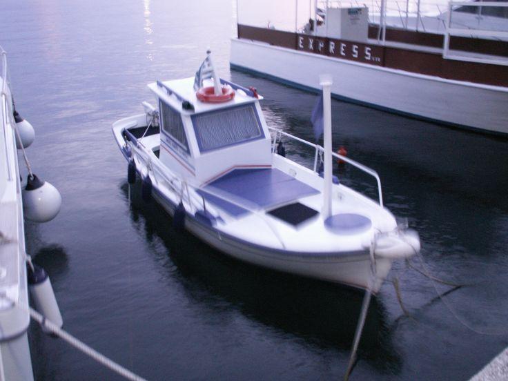 a small boat