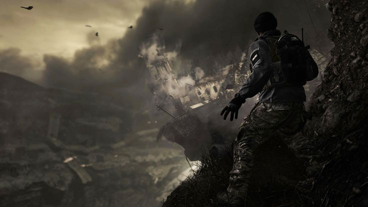 Official Call of Duty: Ghosts Reveal Trailer.