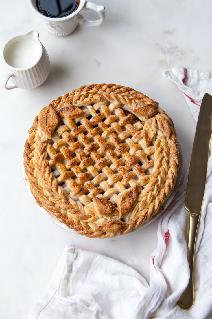 Apple Blackberry Pie Rezept – Schön!   – low carb recipes