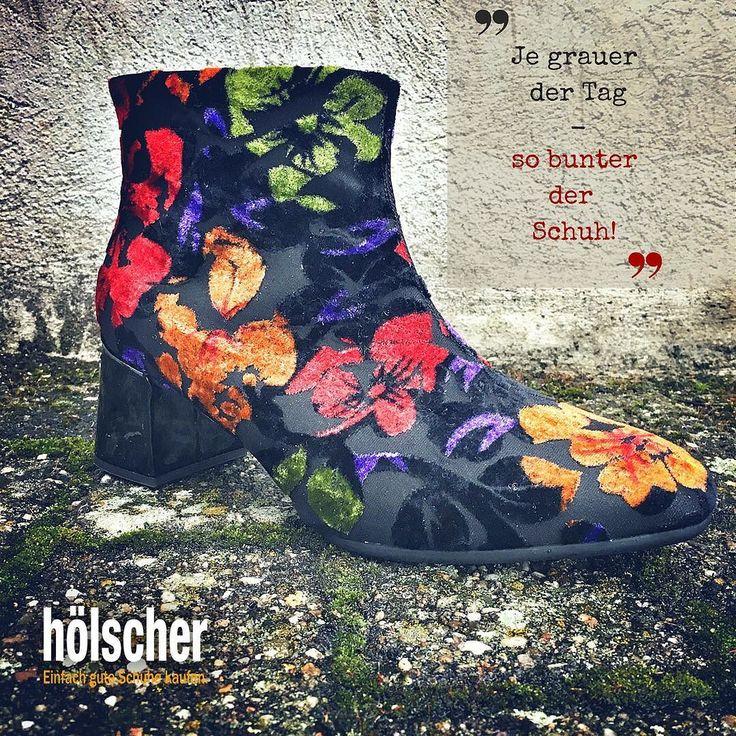 Schuhe passend zu Wetter oder Stimmungslage -) #hoelschuh #emsdetten #grauetage #bunteschuhe #herbst #mode #damenschuhe