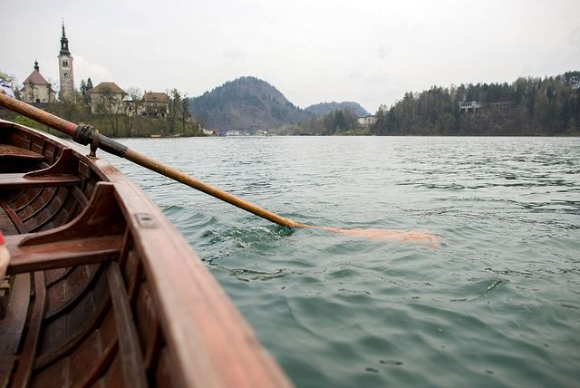 Rowing to Lake Bled Slovenia http://www.annehoang.com.au/photoblog/weekend-in-slovenia/