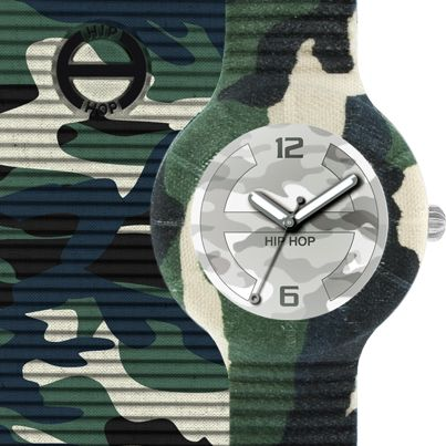 Camouflage Watch & iPhone Cover by Hip Hop!