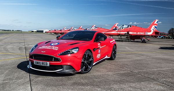 Win our Aston Martin Vanquish S Red Arrows car.  Enter our raffle today. A ticket costs just £20 and will go towards supporting members of the RAF family in need. This would make great gift for a dad this Father's Day, so why not surprise your dad by entering him into the raffle and presenting him with his very own Father's Day certificate?