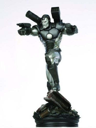 """Bowen Designs Iron Man: War Machine Armor Statue by Diamond Comics Distributors. $225.00. A Bowen Designs sculpt. Display ready. Strictly limited. Stands over 13"""" tall overall. Digitally sculpted by Joseph Menna. From the Manufacturer                A Bowen Designs Sculpt. In Iron Man's war on evil, he has had one constant ally at his side — James """"Rhodey"""" Rhodes, better known by the code name """"War Machine."""" Wearing a custom armor based on the Iron Man armor, this one co..."""