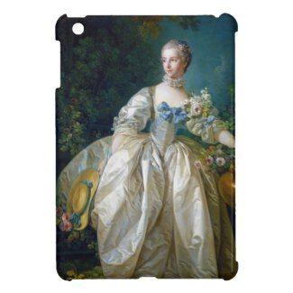 FRANCOIS BOUCHER - MADAME BERGERET portrait art Cover For The iPad Mini #francois #Boucher #madame #bergeret #painting #rokoko #gift #accessory #decoration #lady #art #Paris #France