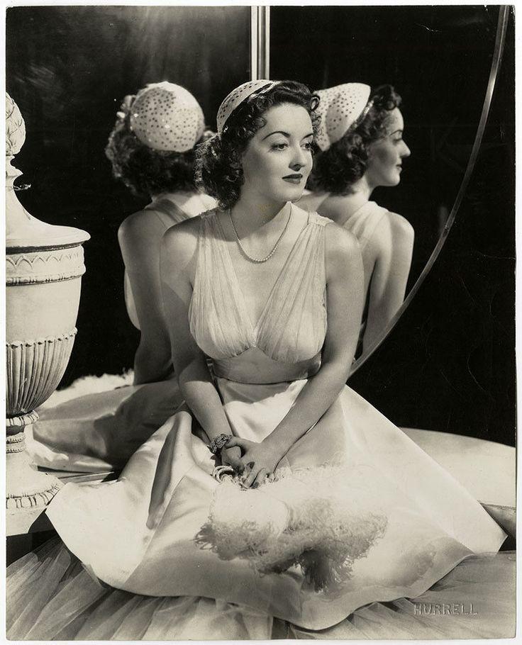 1930s Vintage Bette Davis George Hurrell Exquisite Art Deco Glamour Photograph